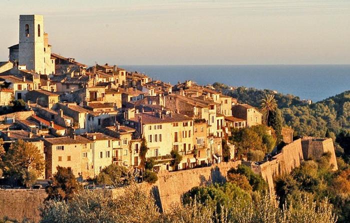 Saint Paul de Vence (Сен-Поль-де-Ванс), Прованс, Франция - путеводитель по городу, достопримечательности