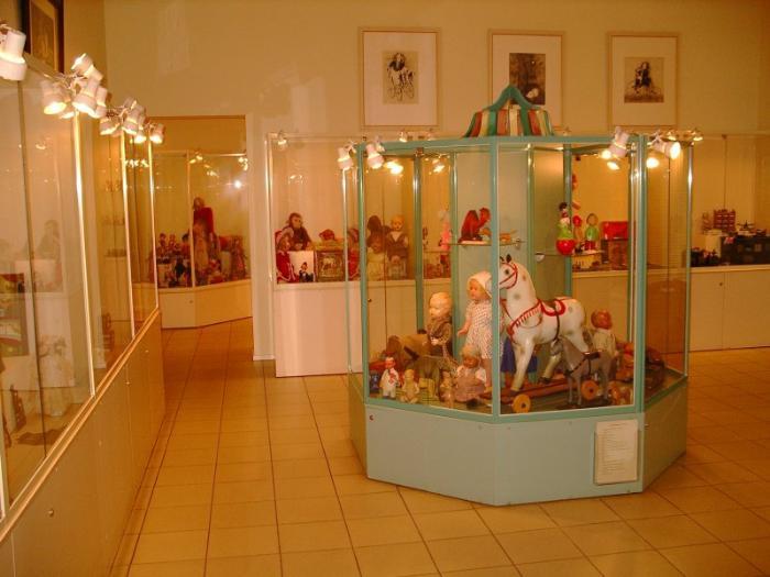 Музей игрушки внутри