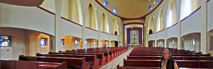 Церковь Сердца Христова в городе Пфорцхайм 2
