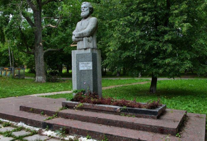 Памятник В. Г. Короленко