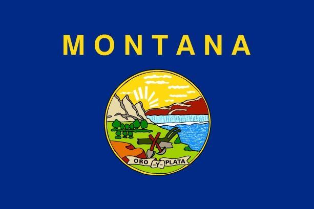 Флаг Монтаны