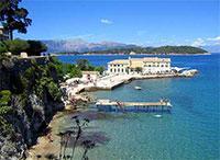 Достопримечательности острова Корфу в Греции