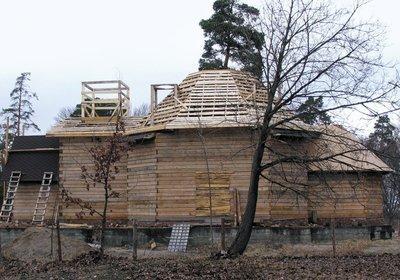 Строительство православной церкви. 2011 г.