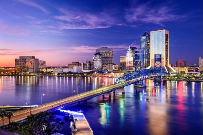 Фото Даунтауна в Джексонвилле во Флориде