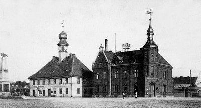 Здание ратуши и почты. Начало XX в.