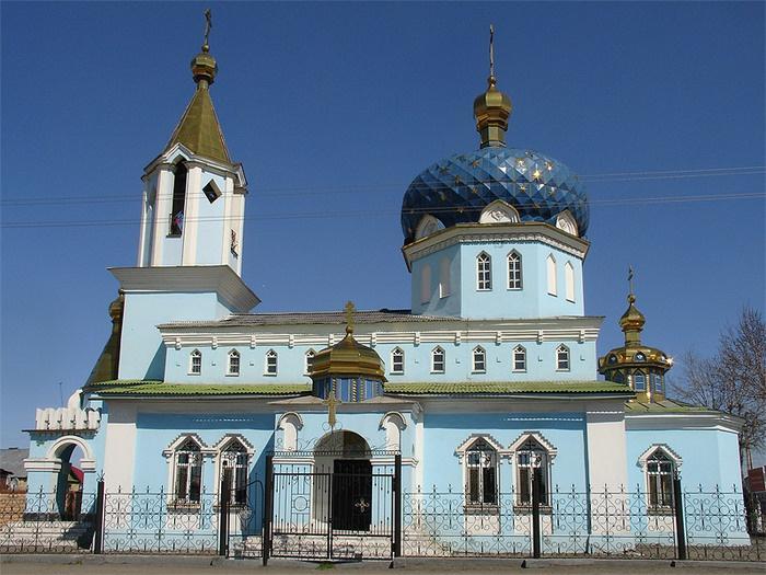 Церковь Николая Чудотворца, Магнитогорск