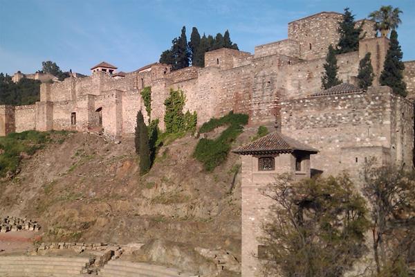 Alcazaba de Málaga в Малаге