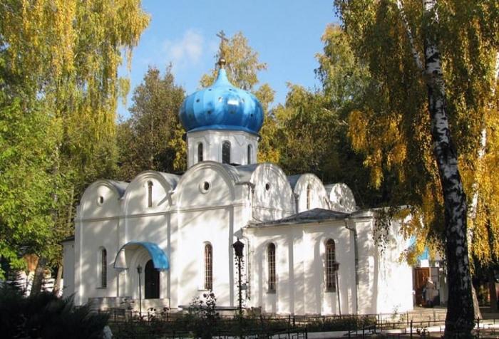 Свято-Успенскй монастырь в Новомосковске