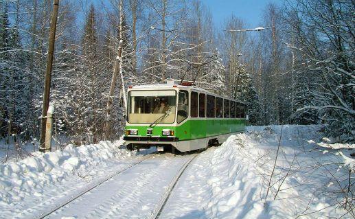 Фото Волчанский трамвай в Свердловской области