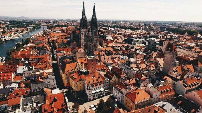 Панорама Регенсбурга