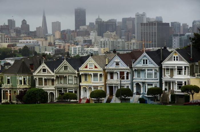 Разукрашенные леди в Сан-Франциско
