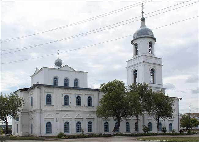 Церковь Николая Чудотворца, Шадринск
