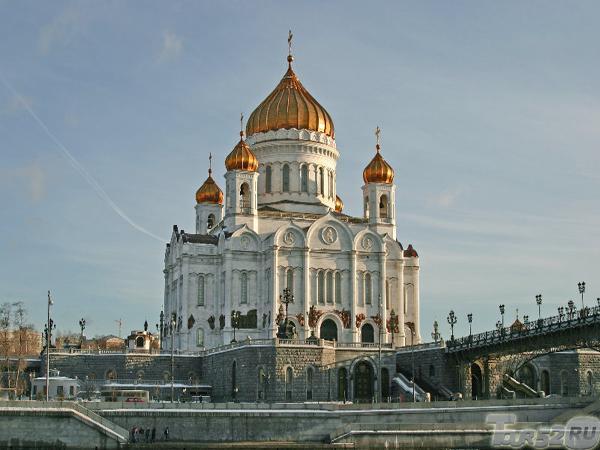 москва фото храм христа спасителя