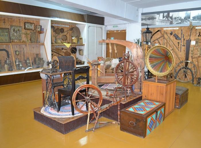 Этнографический зал музея Кирс
