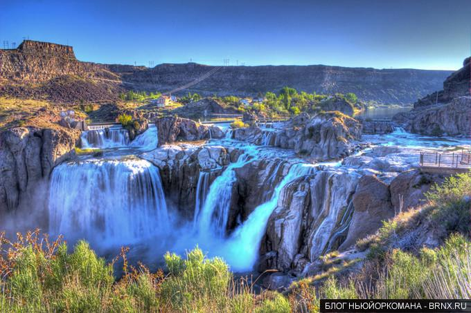 Шошонские водопады (Shoshone Falls)