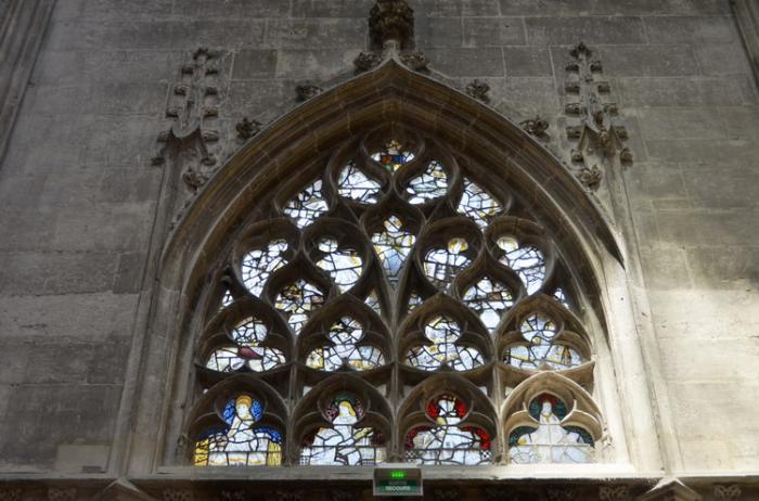 Церковь Сен-Маклу, интерьеры