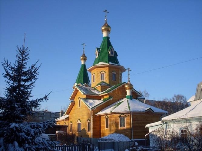Церковь Сретения Господня, Бердск