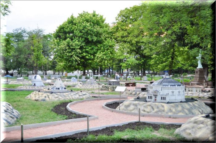 бахчисарай парк миниатюр