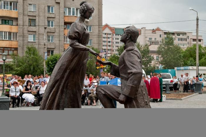 Памятник «Любви и верности», Чита