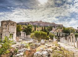 Башня ветров, Акрополь
