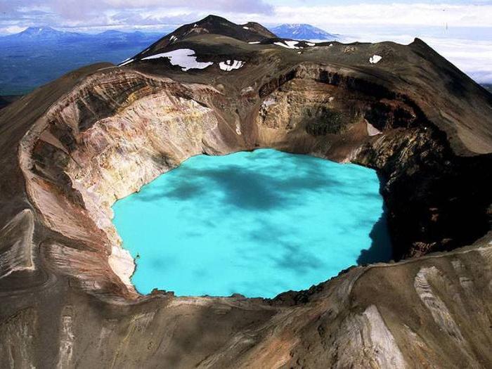 Кислотные озера Камчатка фото