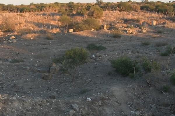 агора, Саламин, Кипр, руины