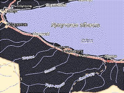 город байкальск на карте иркутской области