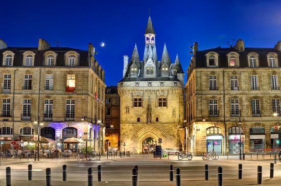 Бордо - столица региона Аквитания, Франция