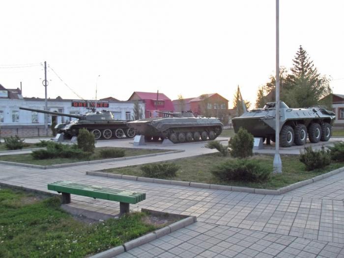 Памятник «Воину-освободителю», Бузулук