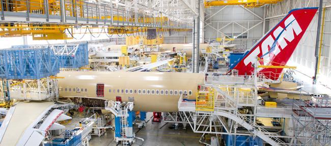 Производство Airbus в Тулузе