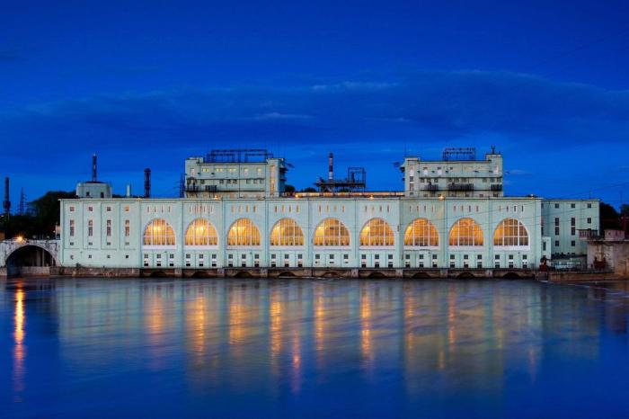 ГЭС в Волхове