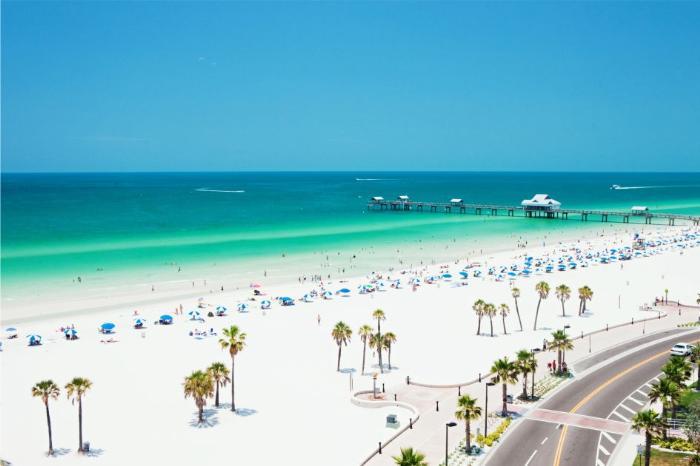 Фото пляжа Clearwater во Флориде