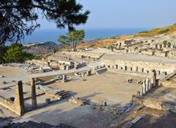 Древний город Камирос, Родос