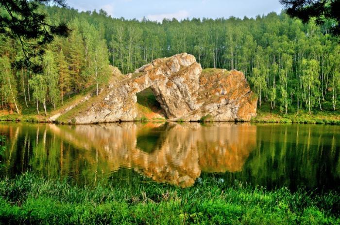 Скала Каменные ворота, Каменск-Уральский