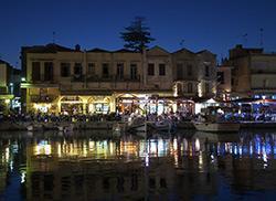 Ночной порт, Ретимно