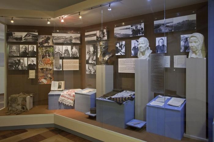 Национальный музей республики Карелия внутри