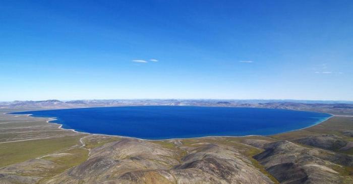 Озеро Эльгыгытгын, Анадырь
