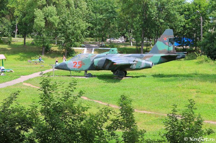 Самолет в парке