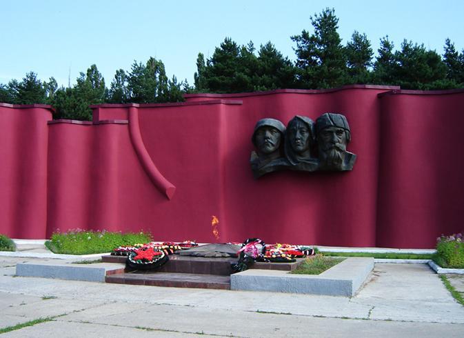 Мемориальный комплекс Великой Отечественной Войны