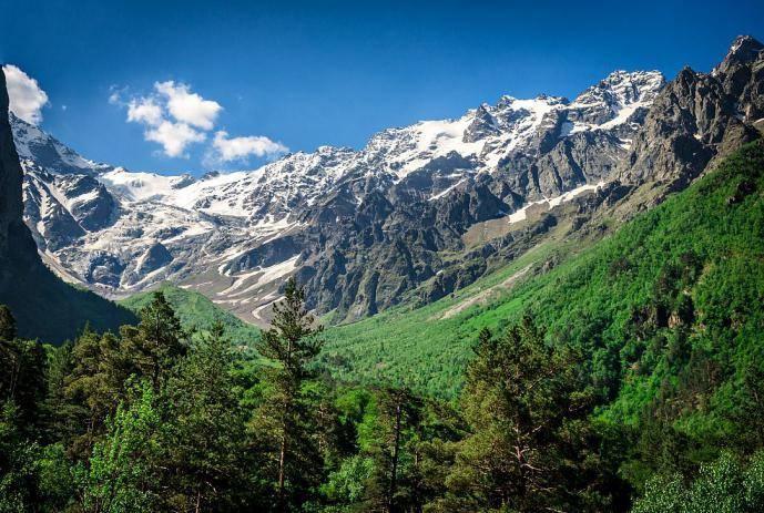 Цейское ущелье Северная Осетия фото