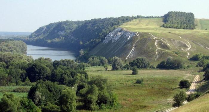 Белогорье на юге Воронежской области.