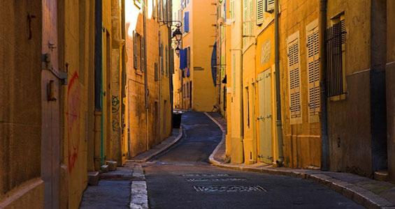 Улицы Марселя, Франция