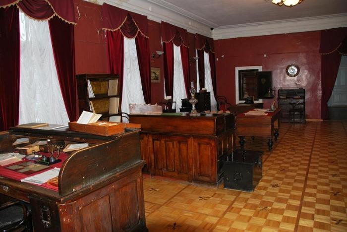 Музей «Домъ на Новинской» внутри