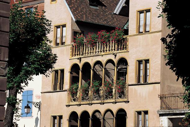 Maison des Chevaliers de Saint-Jean - Достопримечательности Кольмара