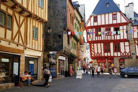 город Ванн - Бретань, Франция