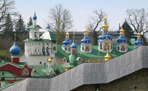 фотография Псково-Печерского монастыря