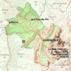 Saint-Antoine-l'Abbaye на карте