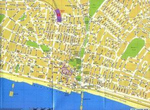 карта Брайтона Великобритания скачать