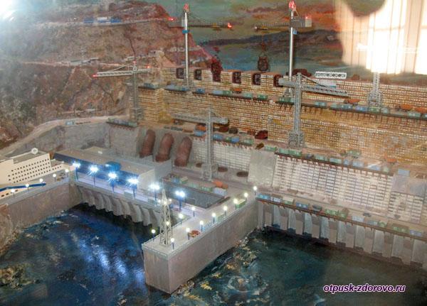 Макет ГЭС, Музей гидроэнергетики, Углич