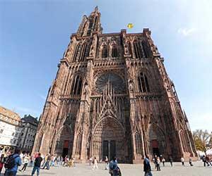 Кафедральный собор - главная достопримечательность Страсбурга